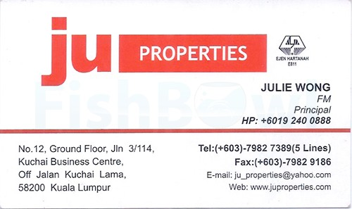 Real estate business card directory ju properties malaysia reheart Image collections